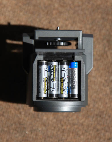 AutoMate battery compartment